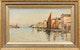 Thumbnail of Artwork by John A. Hammond,  Canal Scene
