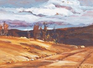 Artwork by Hans  Herold, Storm in Sask, North
