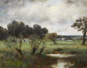 Artwork by Homer Ransford Watson, Approaching Storm