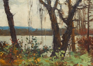 Artwork by Elizabeth Annie McGillivray Knowles, By the Water