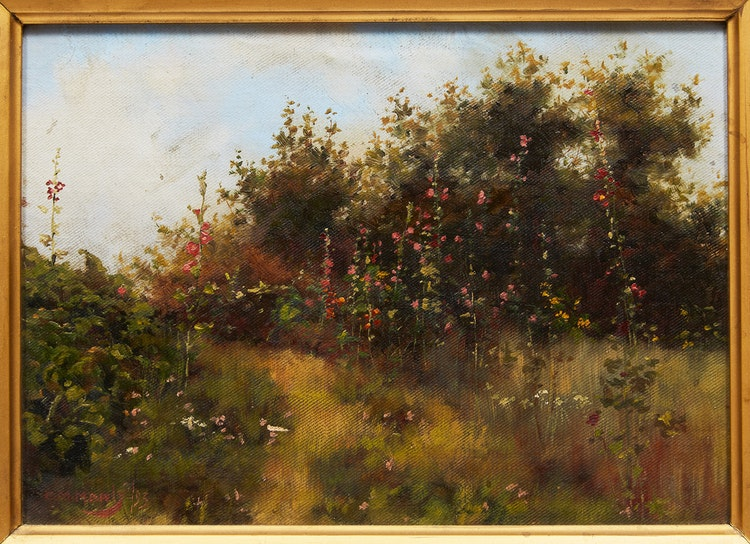 Artwork by Charles Macdonald Manly,  Old Time Favourites