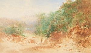 Artwork by Otto Reinhold Jacobi, Landscape