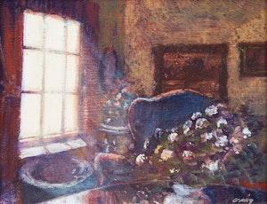 Artwork by Philip Craig, Interior by a Window