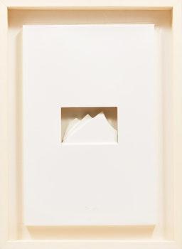 Artwork by Robert Sinclair, Mountain Fold (Homage to Lawren Harris)