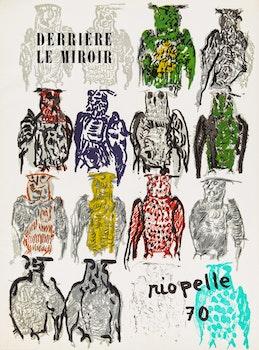 Artwork by Jean Paul Riopelle, Derrière le miroir