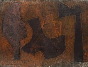 Artwork by Harold Barling Town, Abstraction