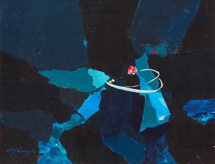 Artwork by Michael Kuczer,  The Dance of the Fireflies