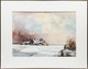 Thumbnail of Artwork by Geoffrey David Armstrong,  Just a Shanty in Old Shanty Town; Farm in Winter