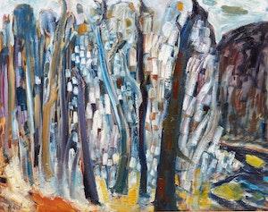 Artwork by Rene Richard, Sans titre (Paysage)