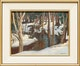 Thumbnail of Artwork by Thomas Albert Stone,  Woods and Stream, Near Kearney