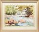 Thumbnail of Artwork by Arthur Drummond,  Below the Dam on Guild River, Haliburton
