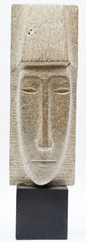 Artwork by Roger Cavalli, Untitled (Abstract Head)