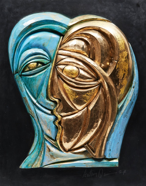 Artwork by Anthony Quinn,  Abstract Profiles