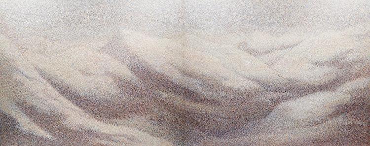 Artwork by Joan Willsher-Martel,  Mountains