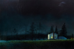Artwork by Barry McCarthy, Nocturne