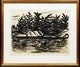 Thumbnail of Artwork by Fritz Brandtner,  Untitled (Trees on a Rocky Shore)