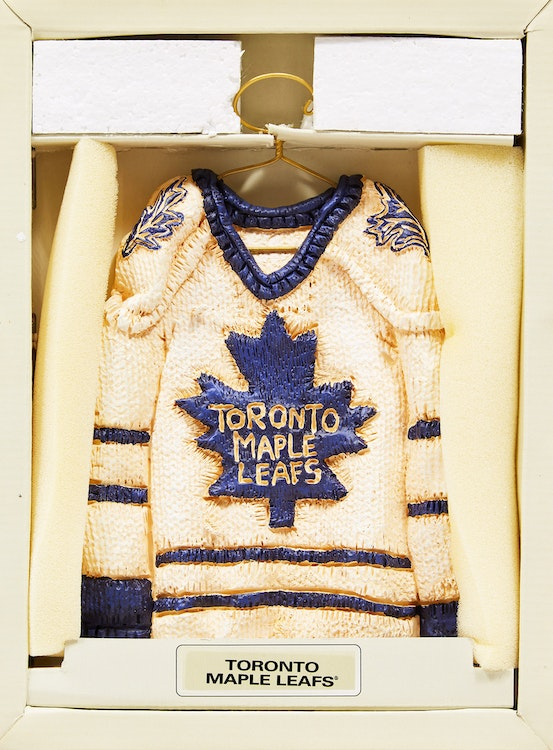 Artwork by Patrick Amiot,  Star Hangers: Toronto Maple Leafs