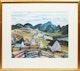 Thumbnail of Artwork by  Peter & Bobs Cogill Haworth,  Village in Winter; Winter Village Scene; Village in Spring; Autumn Village Scene